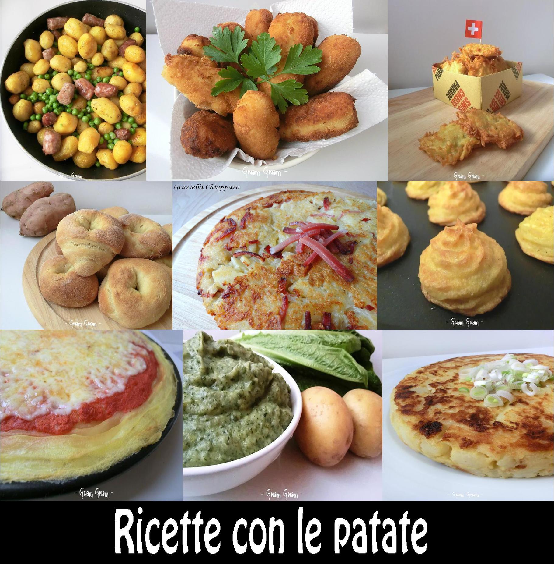 Cento ricette con le patate! | Raccolta ricette