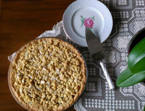 Torta sbrisolona con marmellata e mandorle   Ricetta