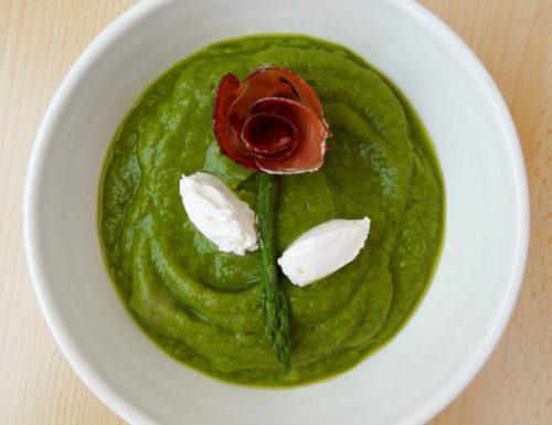 Crema di asparagi | Ricetta leggera