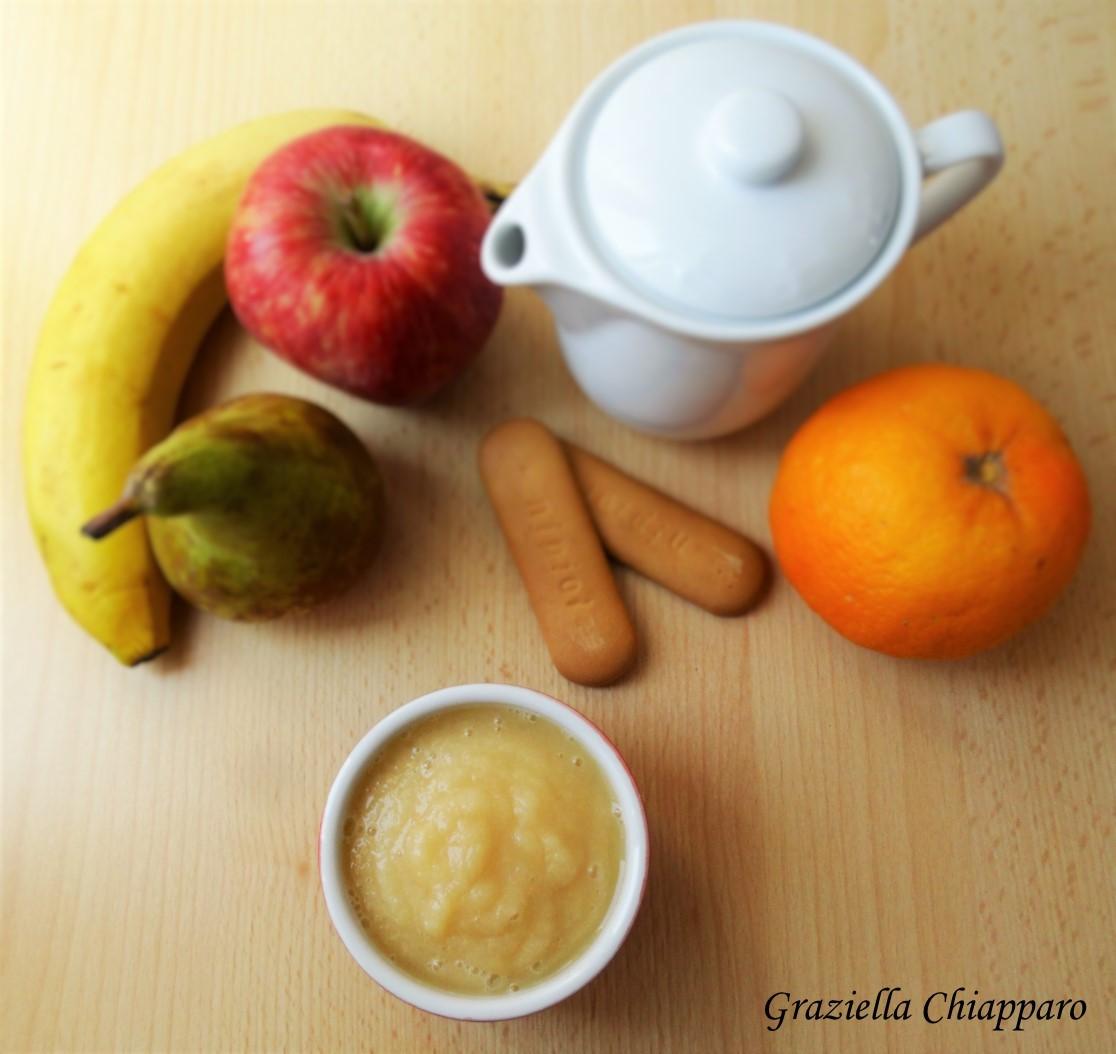 Frullato di frutta mista | Ricetta per bambini