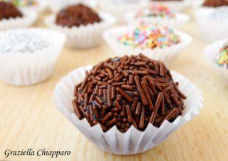 brigadeiros brasiliani al cioccolato