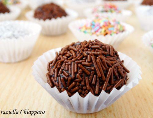 Brigadeiro al cioccolato | Ricetta brasiliana