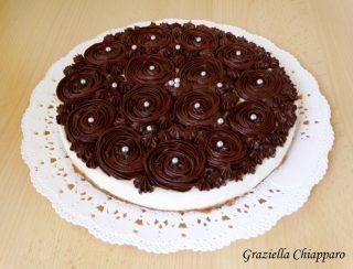 cheesecake ganache cioccolato