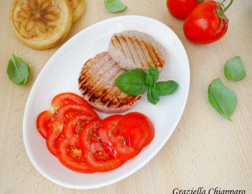 Hamburger di prosciutto cotto e ricotta | Ricetta