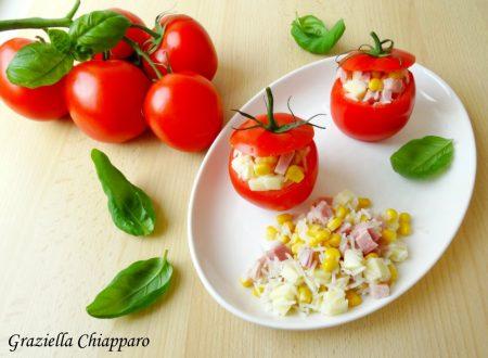 Pomodori freddi ripieni di riso | Ricetta veloce