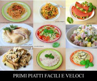Primi piatti facili e veloci raccolta ricette for Primi piatti veloci e gustosi