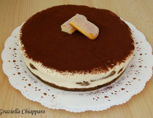 Tiramisù cheesecake | Ricetta senza uova crude