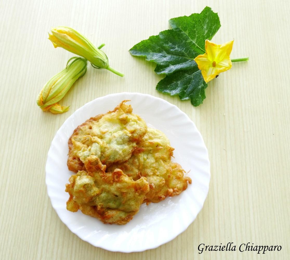 Frittelle di fiori di zucca | Ricetta