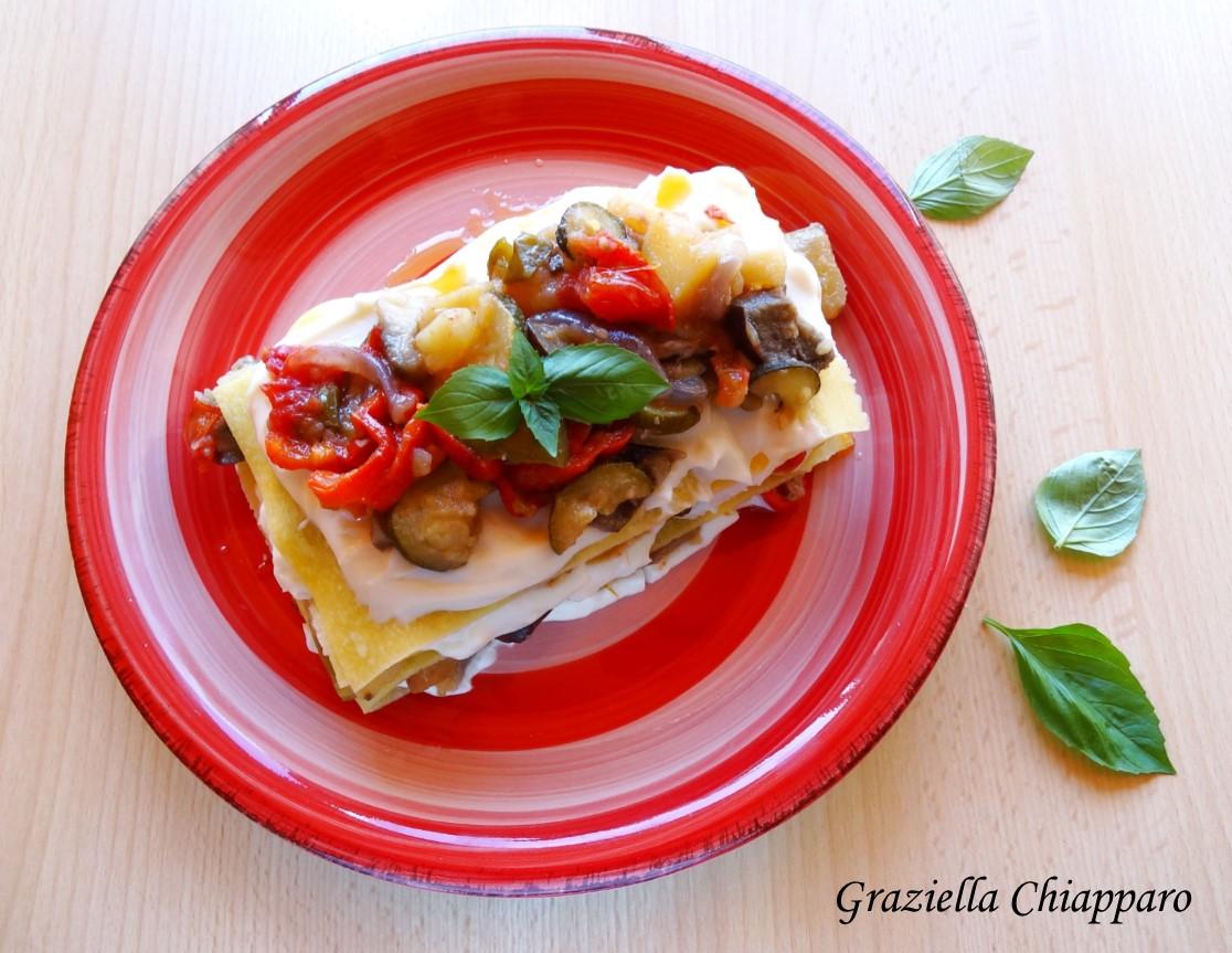 Lasagne estive alle verdure | Ricetta