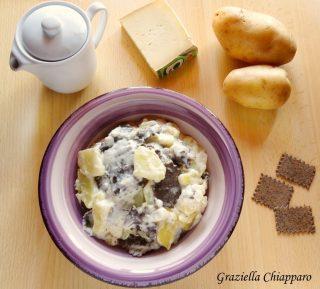 lasagne di Ormea con patate e raschera