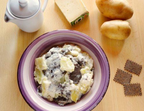 Lasagne di Ormea con patate e raschera | Ricetta piemontese
