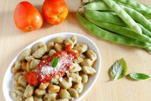 Gnocchi di fagiolini | Ricetta senza uova e senza patate