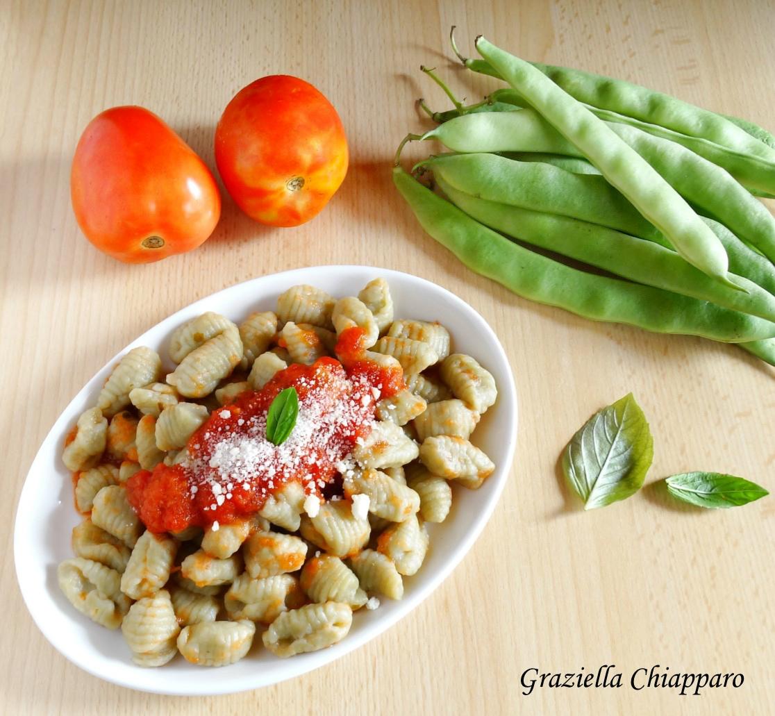 Gnocchi di fagiolini   Ricetta senza uova e senza patate