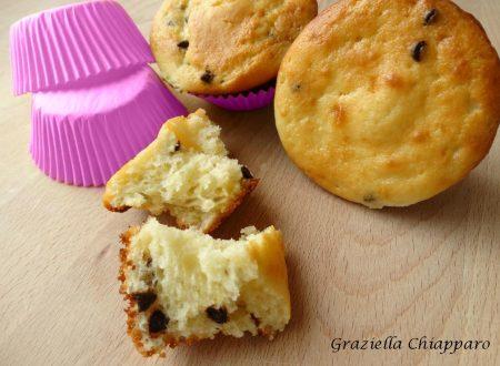 Muffin morbidi ricotta e cioccolato   Ricetta