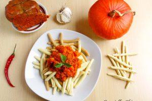 Pasta con zucca e nduja di Spilinga | Ricetta