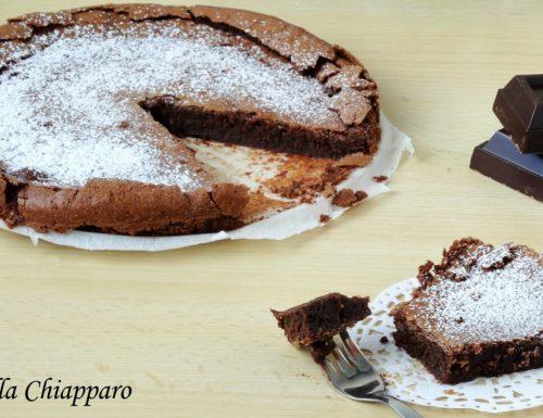 Torta tenerina al cioccolato | Ricetta tipica di Ferrara
