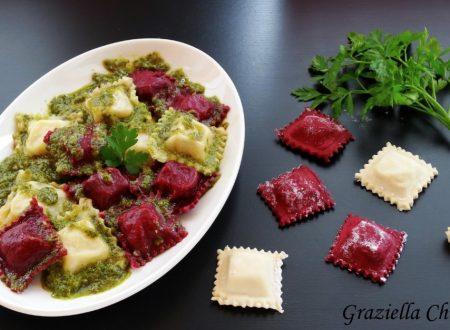 Ravioli senza uova con baccalà e patate | Ricetta