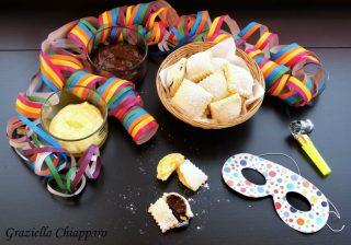 Ravioli dolci al forno ripieni di crema   Ricetta di Carnevale