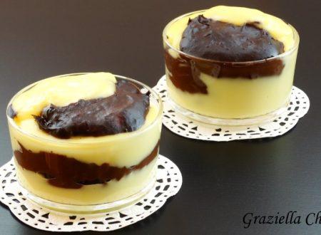 Budino vaniglia e cioccolato | Ricetta facile