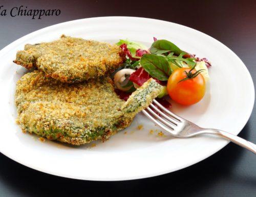 Cotolette di pollo e spinaci – simil spinacine – al forno