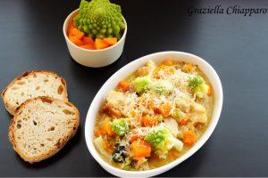 Pancotto con zucca e broccolo romanesco | Ricetta