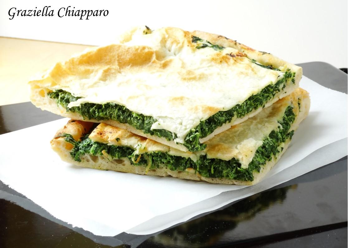 Pizza parigina con ricotta e spinaci   Ricetta