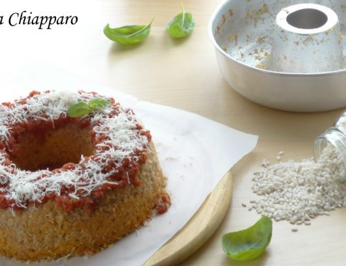 Ciambella di riso con pomodoro e mozzarella | Ricetta