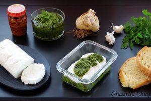 Tomini freschi con salsa verde | Ricetta piemontese