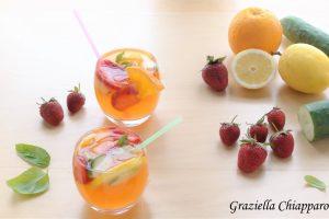 Acqua aromatizzata alle fragole   Ricetta facile