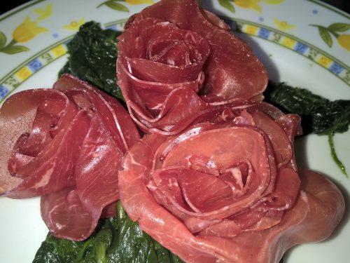 ROSE CON I SALUMI