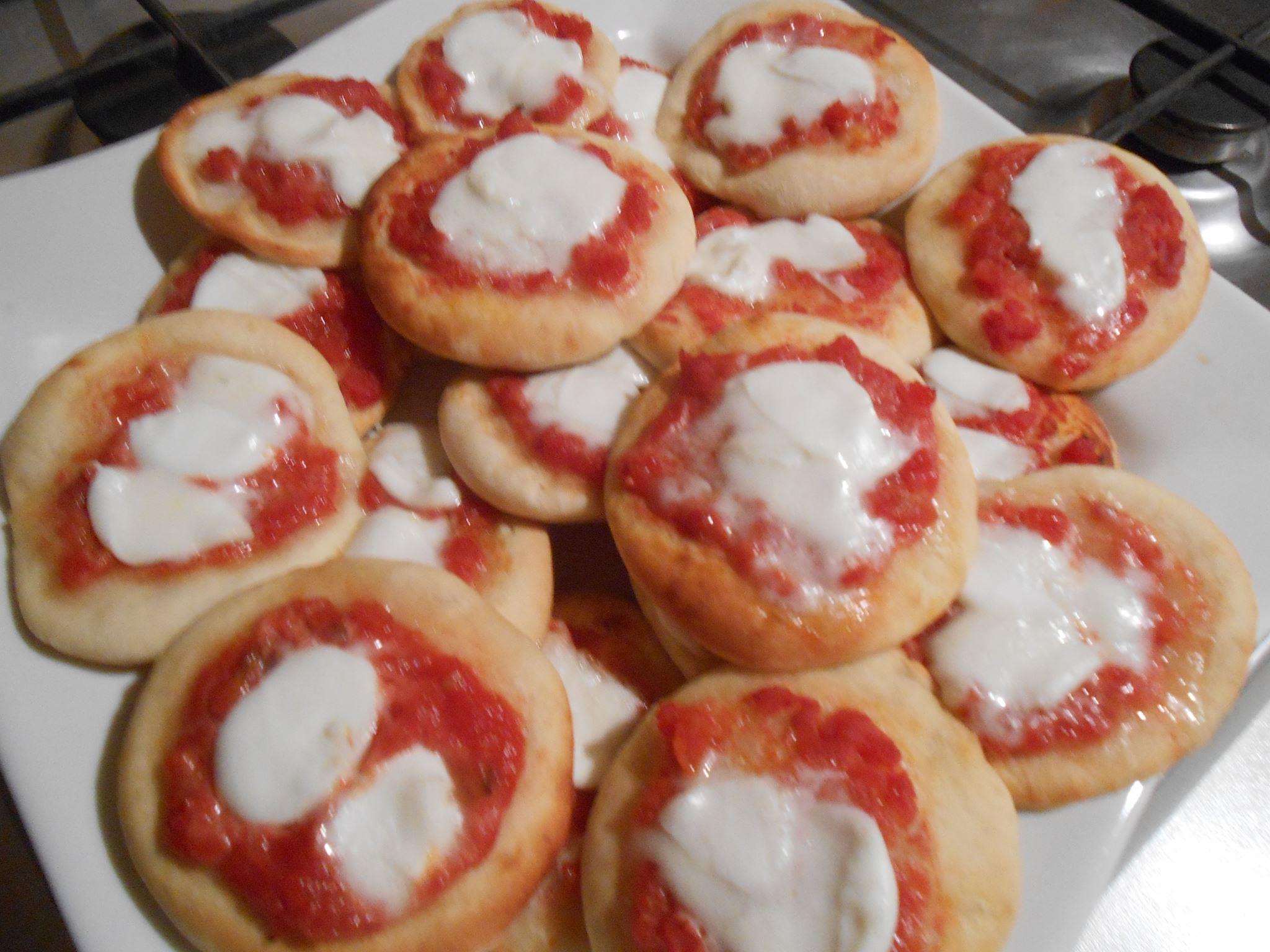 Pizzette Come Quelle Dei Bar Golosamente Milena