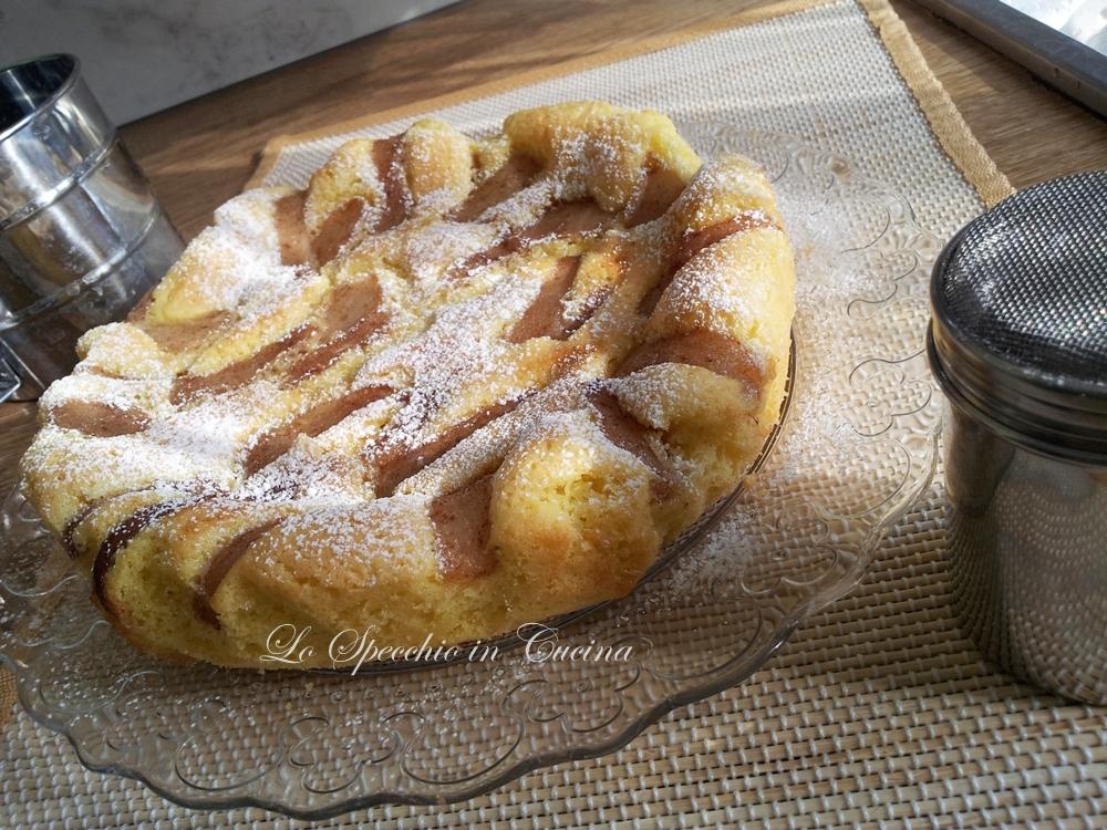 Torta pere e cannella ricetta dolci for Cucina ricette dolci