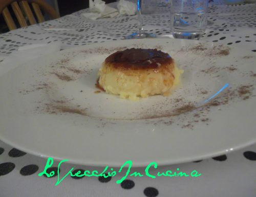 Budino di San Biagio , ricette dolci al cucchiaio