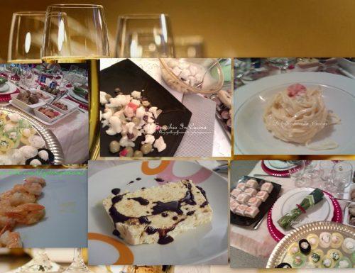 Menu di Capodanno , ricetta delle feste , lo specchio in cucina