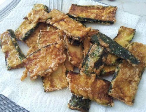 Zucchine impanate e fritte, ricetta contorno