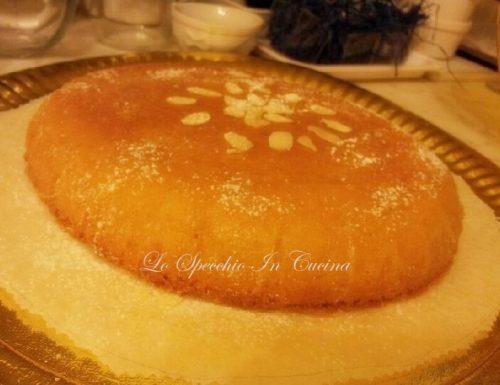 Torta profumata al limone,ricetta dolci di Pasqua