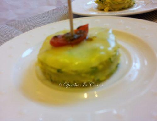 Frittata di zucchine con pomodorini al forno ,ricetta frutta e verdura
