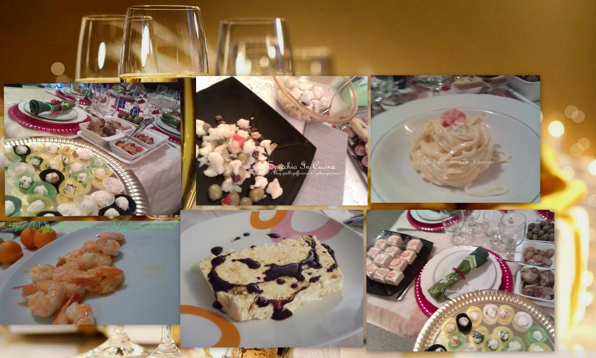 ricette per le festività, ricette primi , secondi con pesce , antipasti, ricette da lo specchio in cuci