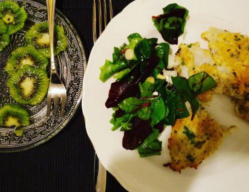 Sogliola con pangrattato allo zafferano,ricetta secondi di pesce
