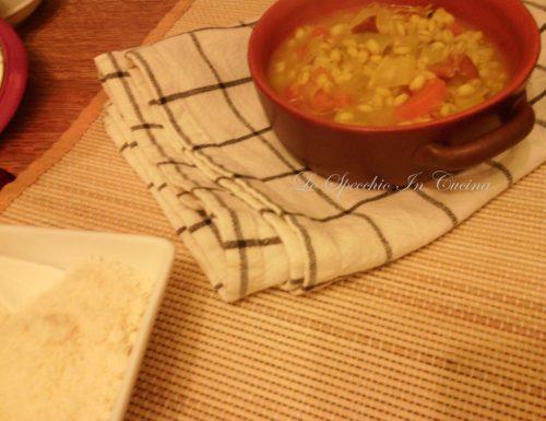 Orzo allo speck e verdure , ricetta primi piatti