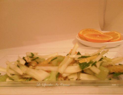 Insalata finocchi e arance , ricetta antipasto