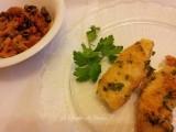 Merluzzo al forno, ricetta secondi di pesce , ricetta con verdure, ricetta con peperoni,ricetta dal blog Lo Specchio In Cucina