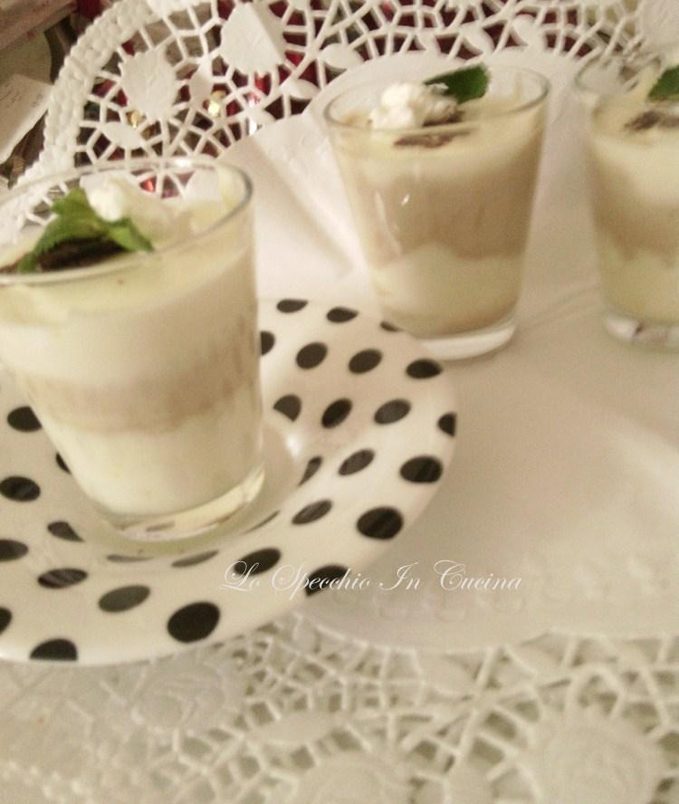 Bicchierini fiordaliso , ricetta dolci, ricetta dolci al cucchiaio, ricetta dal blog Lo Specchio In Cucina