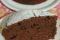 Torta cachi e cacao