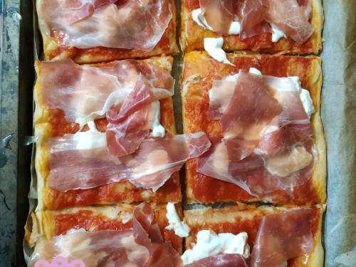 Pizza in teglia di Benedetta