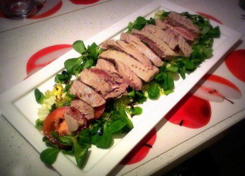 Tagliata di tonno al sesamo, ricetta originale