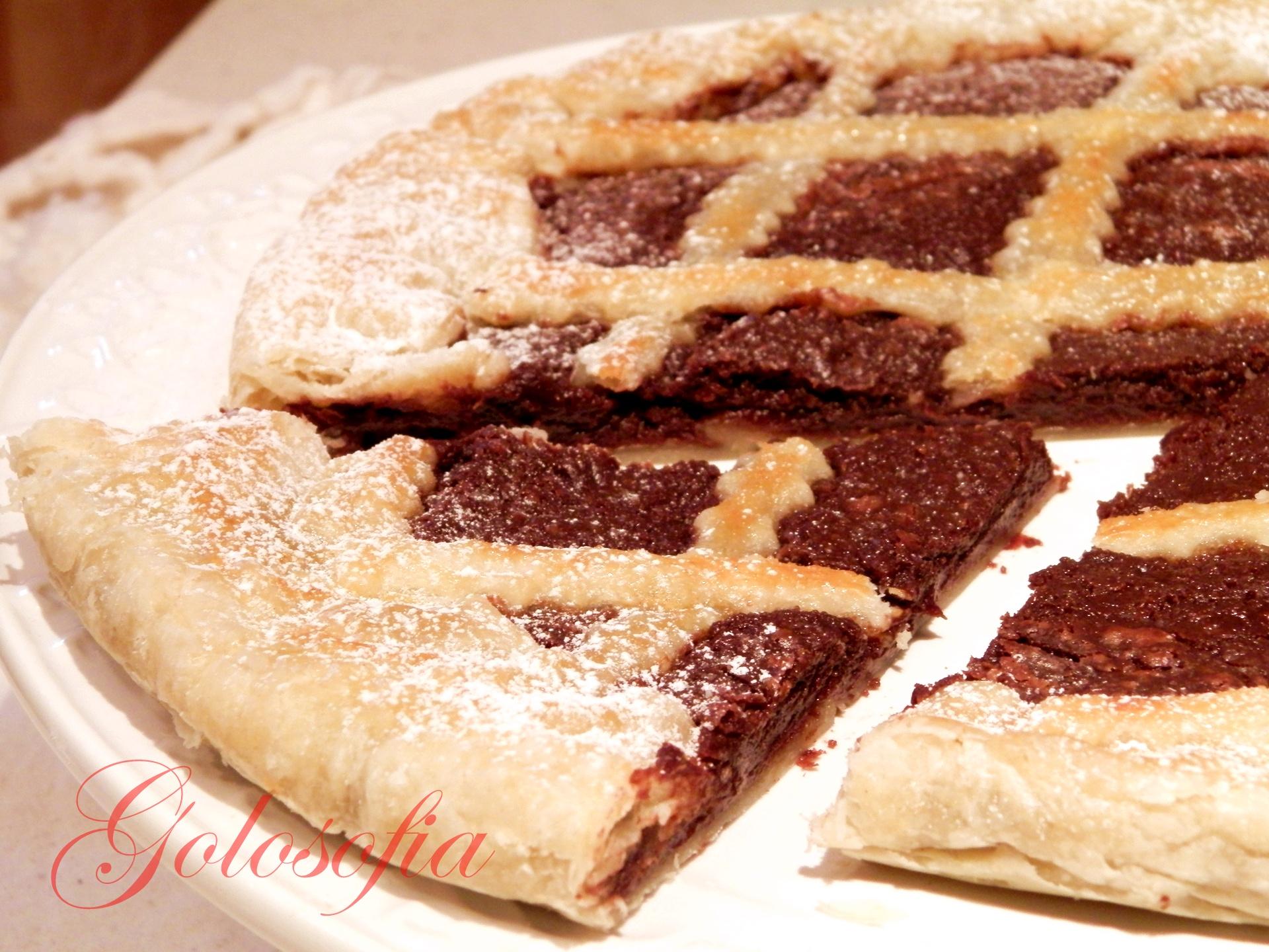 Ricetta torta alla nutella con pasta sfoglia