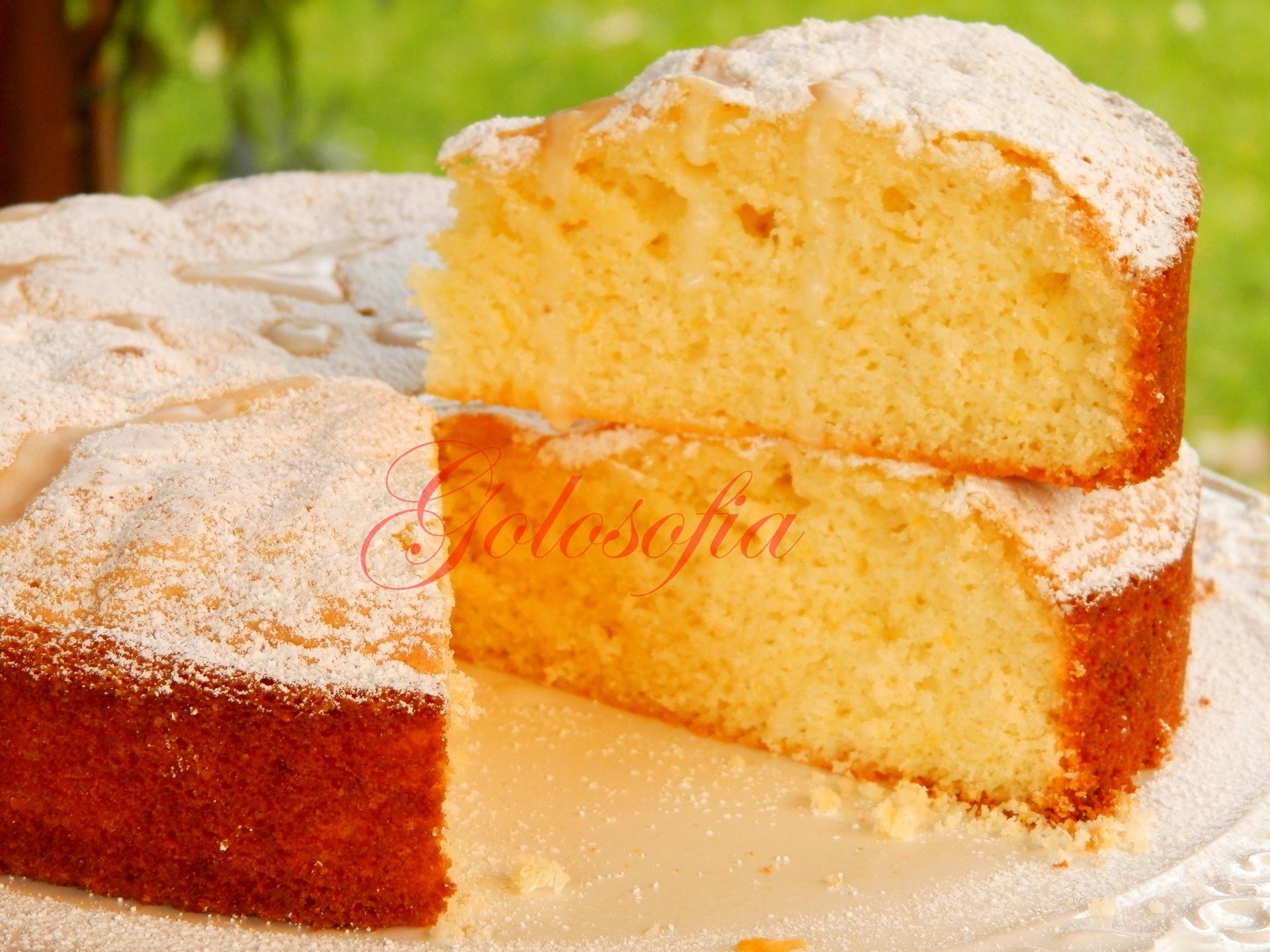 Torta Al Limone Ricetta Soffice Senza Burro