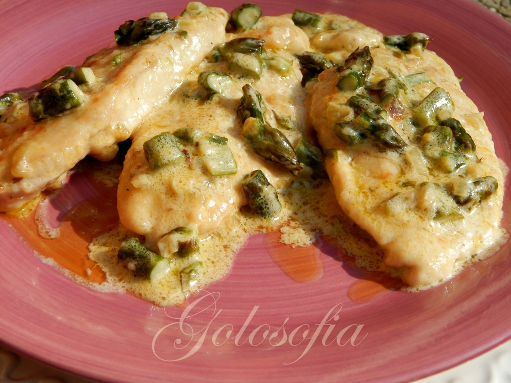 Scaloppine agli asparagi ricetta gustosa e veloce for Secondi di carne