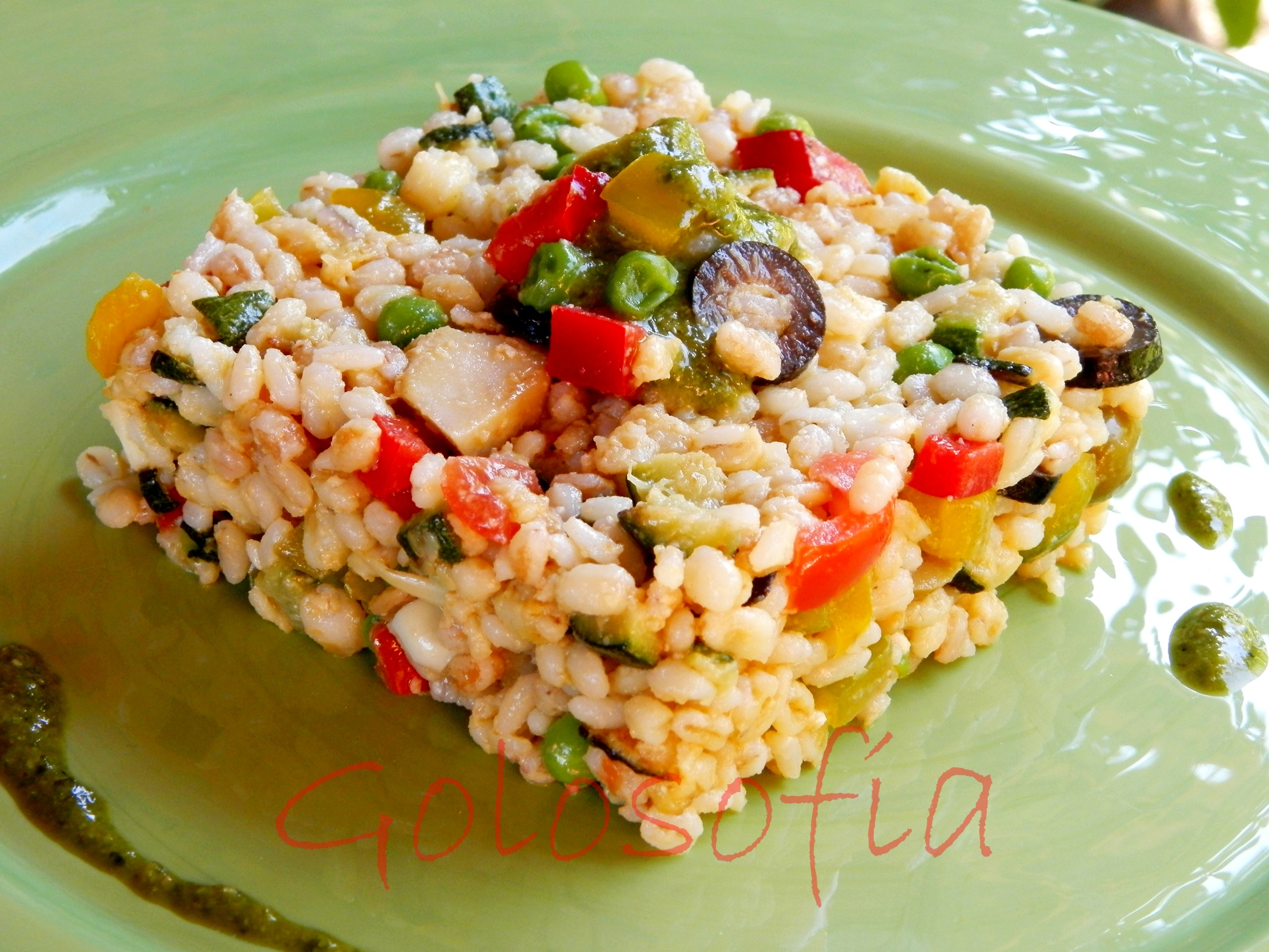 insalata ai 5 cereali ricetta primaverile gustosissima